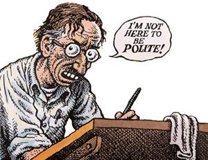 Robert Crumb The Daily Omnivore