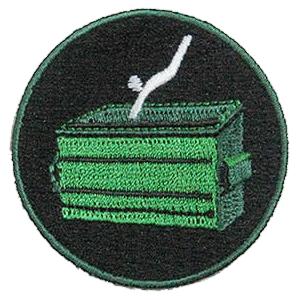 dumpter diving merit badge