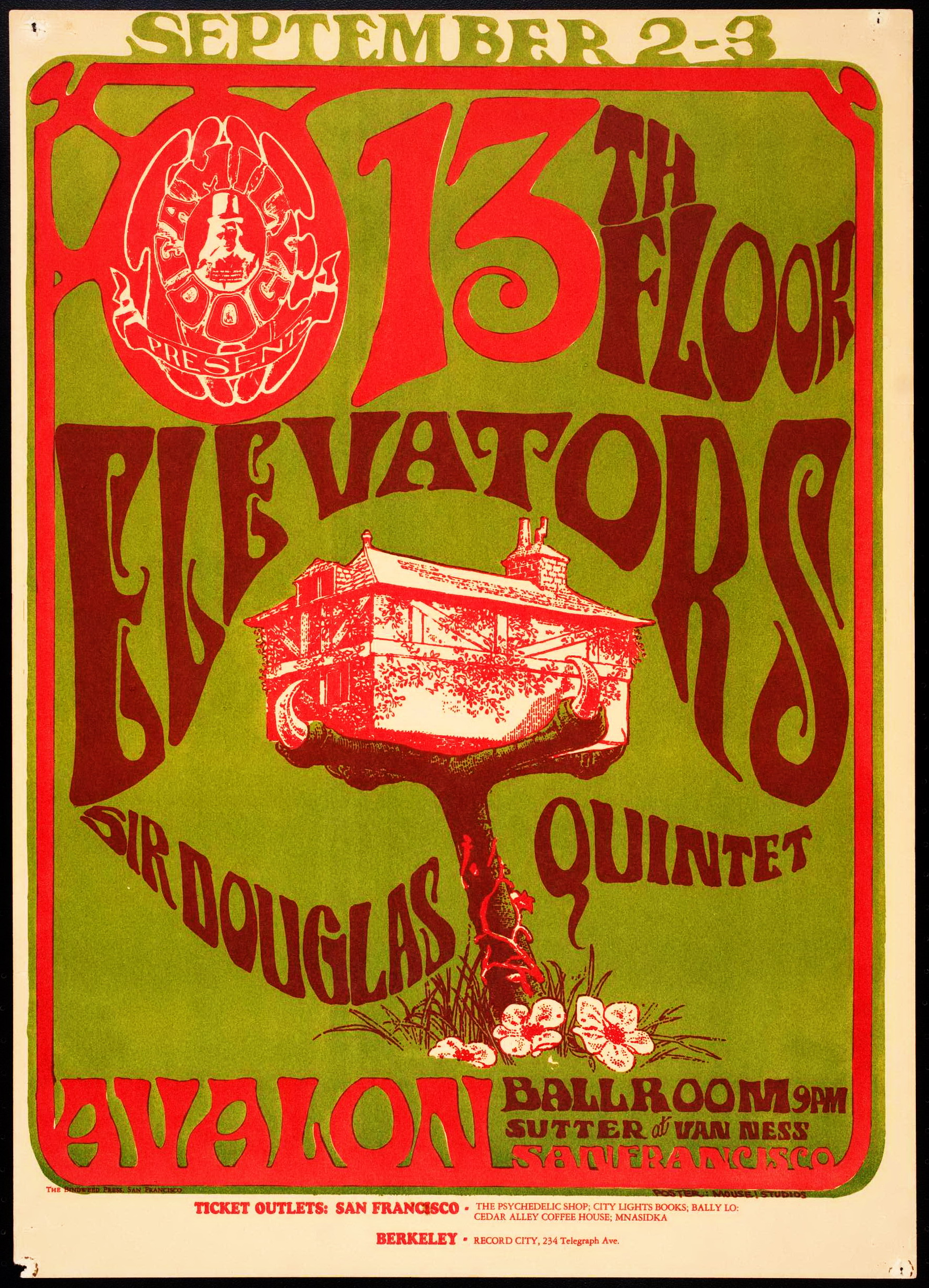 Stanley mouse the daily omnivore for 13th floor elevators psychedelic circus
