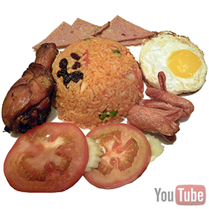 american fried rice