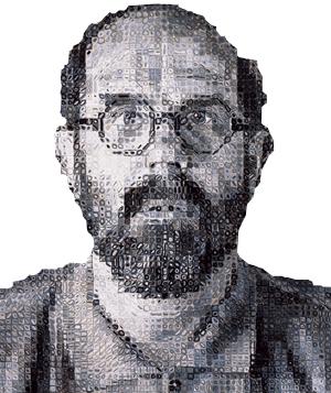 big self portrait 1991 by chuck close