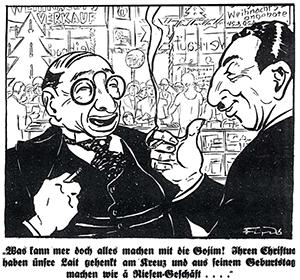 Der Stürmer Christmas 1929