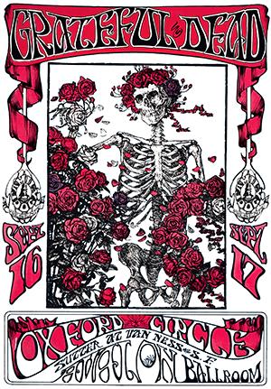 Stanley Mouse 1966 Grateful Dead