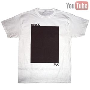 black fax shirt
