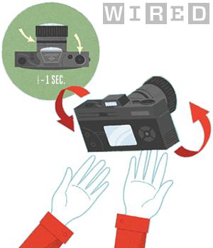camera toss