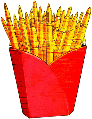 freedom fries by Anthony Freda