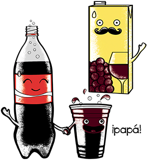 Kalimotxo [ kal-ee-moht-cho ] is a drink consisting of approximately ...