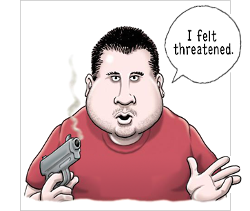 stand your ground by george zimmerman by Clay Bennett