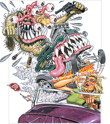 hot rod by robert williams