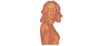 laurie strode by nik holmes