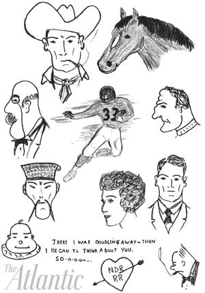 reagan doodles