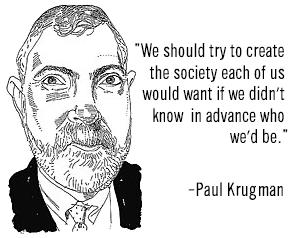 paul krugman by Joe Ciardiello