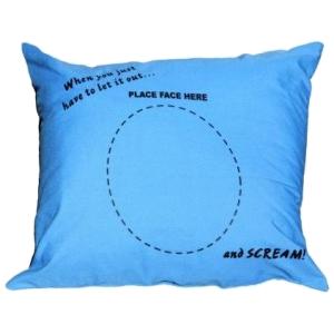 screaming pillow
