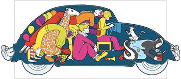 clown car