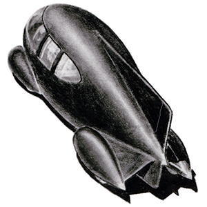 Norman Bel Geddes car