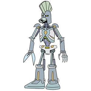 cybernetic ghost