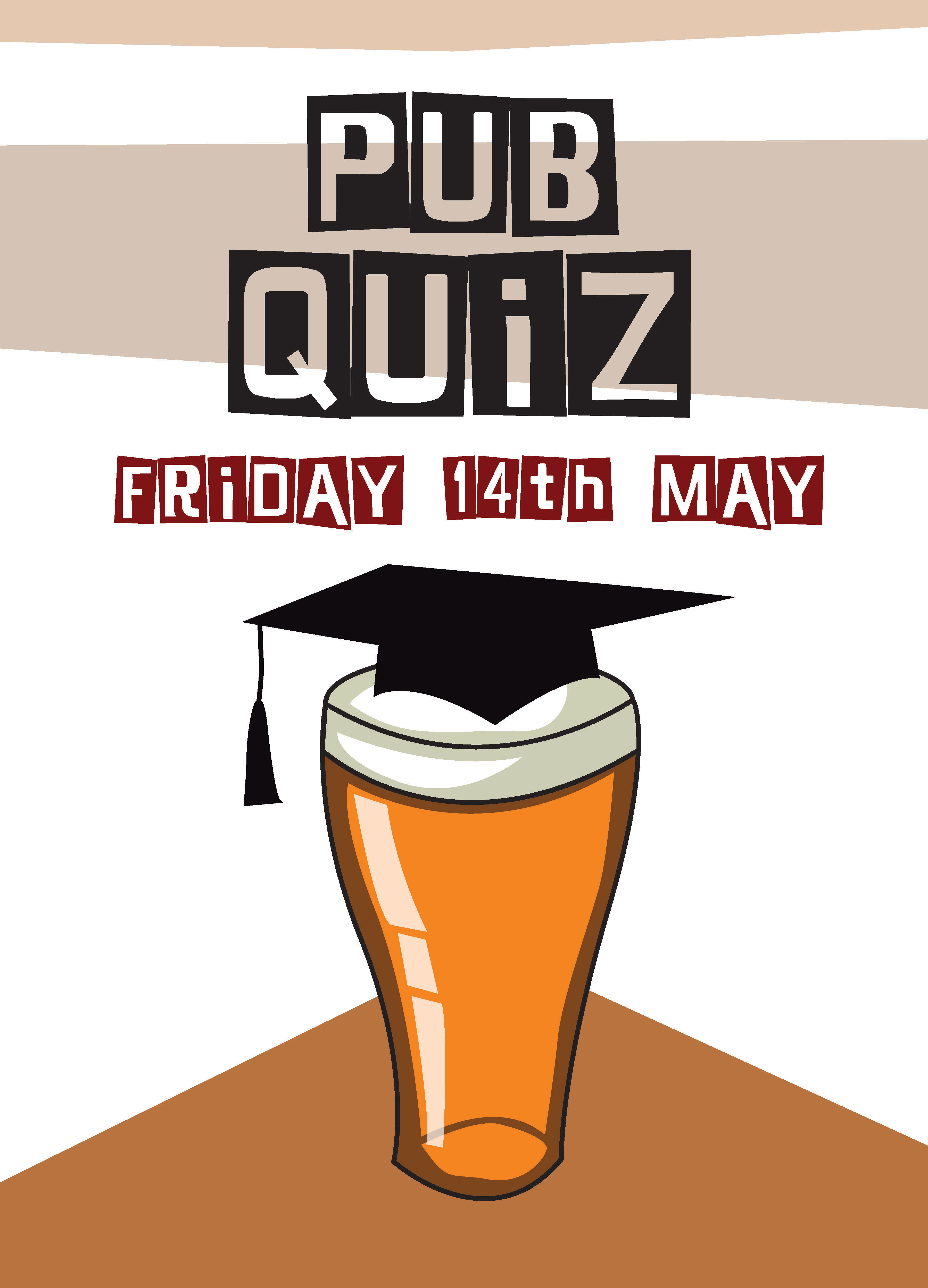 Outstanding Pub Quiz Poster Template Inspiration - Professional ...