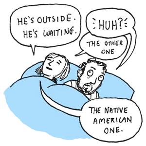 sleep talking by Peter Quach