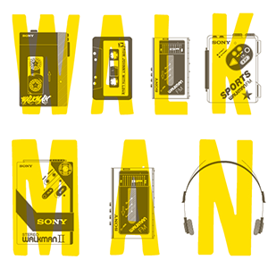 walkman day by Johnny Two Tone Club
