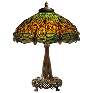 dragonfly library lamp
