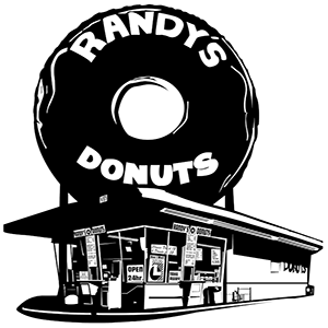 Randys Donuts by Jonathan Tolleneer