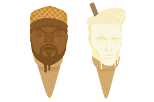 rapper ice cream by carrie anne brown