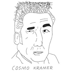cosmo kramer by sean ryan