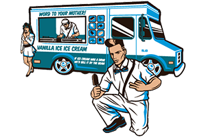 vanilla icecream by benjamin douglass