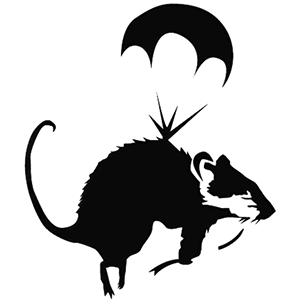 Parachuting Rat