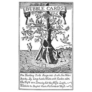 south sea bubble cards