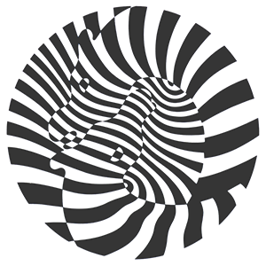 zebras by victor vasarely