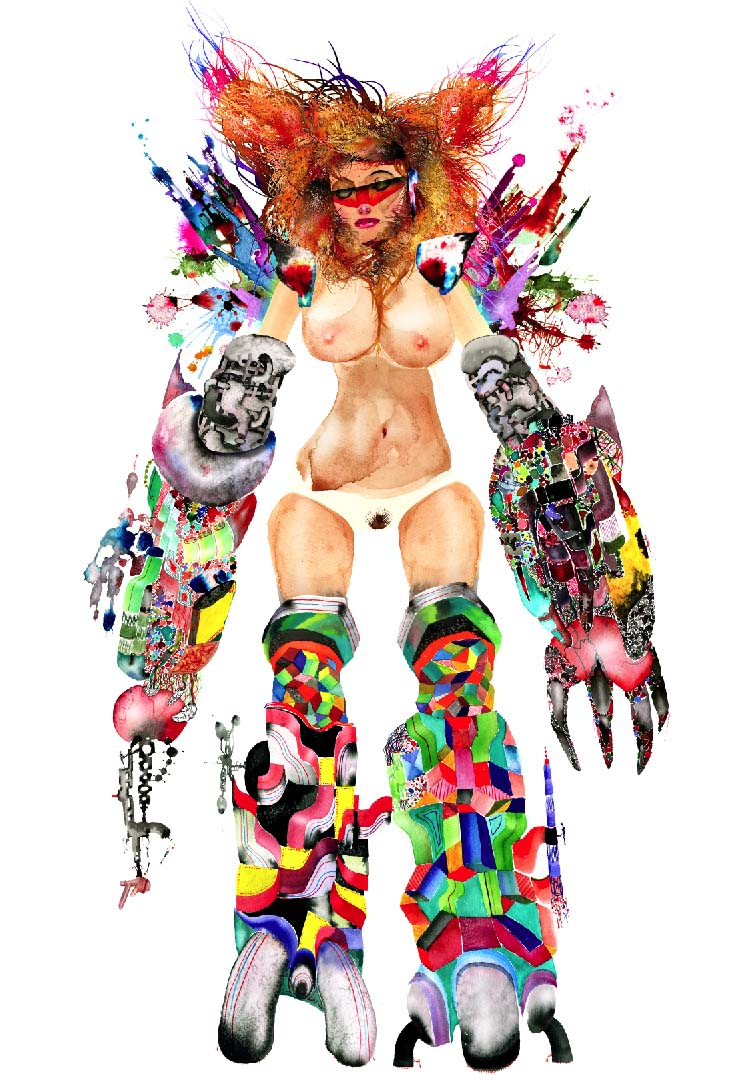 David Choe Drawings