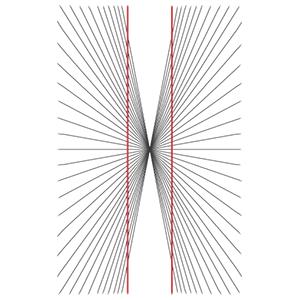 hering-illusion