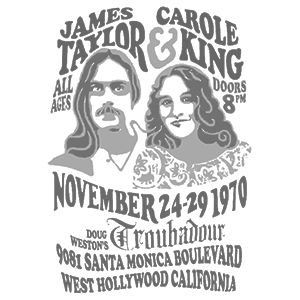 Carole King and James Taylor