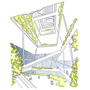 vertical farm by darran oxley