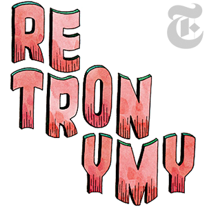 retronymy by John Hendrix