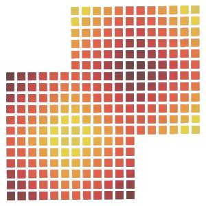 squares serigraph