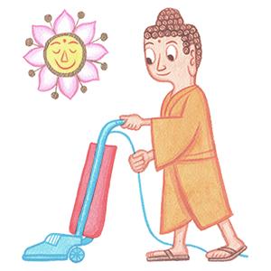 buddha vacuums by rodney greenblat
