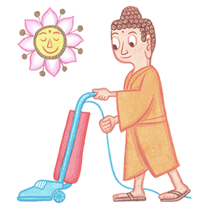 buddha vacuums by rodney greenblat