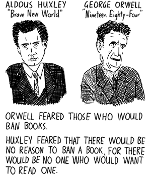 amusing ourselves to death thesis In 1985, neil postman published amusing ourselves to death: public discourse in the age of show business in a barnstorming introduction, postman argues why aldous huxley's utopian vision in a brave new world trumps george orwell's dystopian vision in 1984 it's so compelling i've offered a.