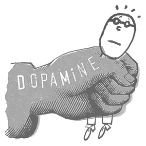 dopamine by Serge Bloch