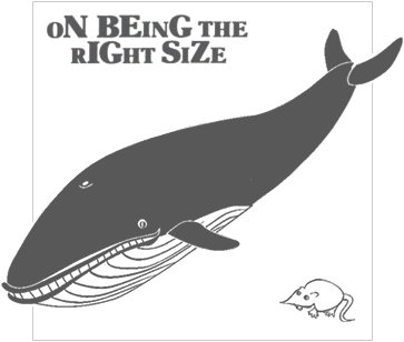 on being the right size