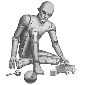 Positronic Robot by Ralph McQuarrie