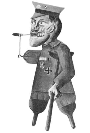 war cripples by otto dix
