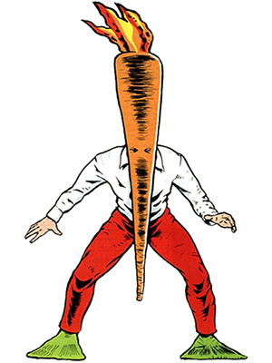 flaming carrot