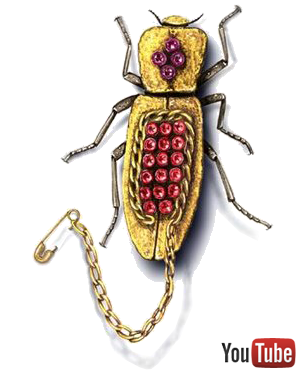 Live Insect Jewelry