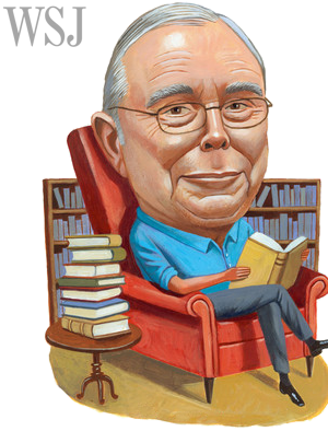 charlie munger by Charlie Powell