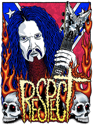Dimebag Darrell by Gumball Designs