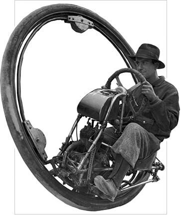 Goventosa monowheel