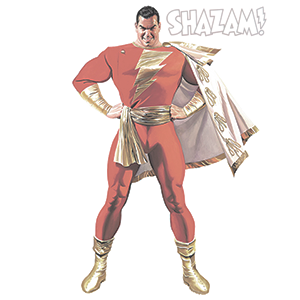shazam by alex ross